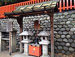 "File:""Omokaruishi"" (Heavy-Light Stone) at Fushimi Inari Grand Shrine.JPG"