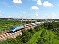 巡道工出品 photo by Xundaogong 客车T184通过王岗疏解线 - panoramio.jpg