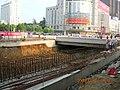 广场北路下穿工程开始下挖 - panoramio (1).jpg