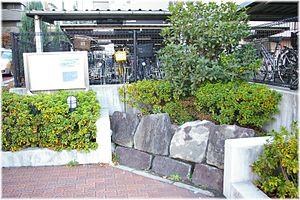 Stone wall in Takanawa seashore