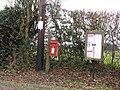 -2020-12-16 Post mounted Post Box, Sheringham Road, West Beckham, Norfolk.JPG