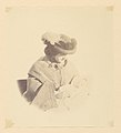 -Vignetted portrait, woman holding a baby- MET DP113912.jpg