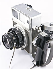 0160 Mamiya Super 23 with 100mm f3.5 lens and 6x9 120 roll film back (5101124277).jpg