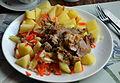 02016 0631 Putenbraten mit Gemüse und Rösterdäpfel aus Beskiden.JPG