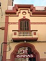 045 Casa Vicenç Mestres, c. Hermenegild Clascar (Vilafranca del Penedès).JPG