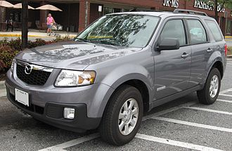 Mazda Tribute - Image: 08 Mazda Tribute