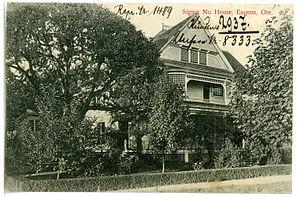 Sigma Nu - Sigma Nu House in Eugene, Ore. (1906)
