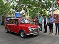099 Fira Modernista de Terrassa, desfilada de cotxes d'època a la Rambla.JPG