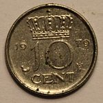 10 cents Dutch guilder (1979) reverse.JPG