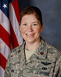 110922-F-ZD840-0111 Rebecca Ohm, Commander of the 180th Aircraft Maintenance Squadron and Ohio's First Female F-16 pilot.jpg