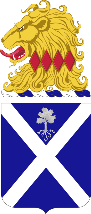 113th Infantry Regiment (United States) - Coat of arms