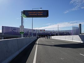 12-07-15 Brisbane Airportlink Opening - Southern Portal - Northbound.jpg