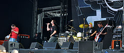 Clutch beim Rock am Ring 2013