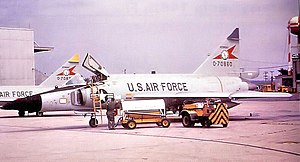 158th Fighter Wing - 134th Fighter-Interceptor Squadron - Convair F-102A Delta Dagger 57-0880