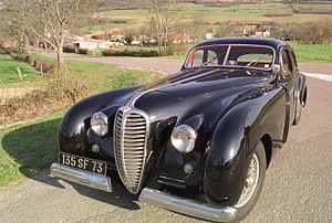 Delahaye 135 - The special version Gascogne (1948).