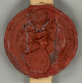 1421-04-03. Seal of John of Bavaria-Straubing (Count John III of Holland).png