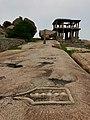 14th century stone linga Hemakuta Hill, Hampi Karnataka.jpg