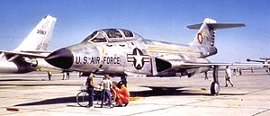 15th Test Squadron - 15th Fighter-Interceptor Squadron McDonnell F-101B Voodoo at Davis Monthan AFB in May 1961