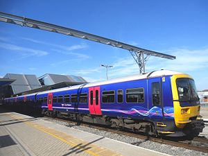 British Rail Class 165 - First Great Western Class 165/1 No. 165106 at Reading