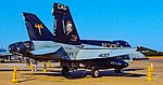 165403 F A-18C Hornet Strike Fighter Squadron 34 VFA-34 Blue Blasters CAG (Commander, Air Group) (30002720937).jpg