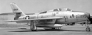 182d Airlift Wing - 169th TFS F-84F 51-9414