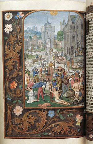 Museum Mayer van den Bergh - Image: 16th century painters Folio from the Mayer van den Bergh Breviary WGA15812