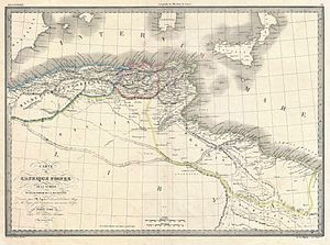 Parthenia (place) - Map of Roman North Africa