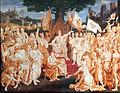 1838 von Carolsfeld Einsetzung des Landsfriedens durch Kaiser Rudolf von Habsburg anagoria.JPG