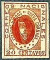1861 20c EU de Nueva Granada red 0 Sc17.jpg