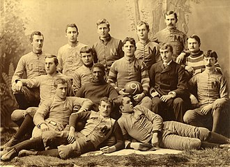 1890 Michigan Wolverines football team - Image: 1890 Michigan Wolverines football team