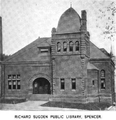 1899 Spencer public library Massachusetts.png