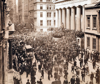 Panic of 1907 three-week financial crisis in the United States
