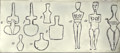 1911 Britannica - Aegean - Marble Idols.png