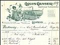 1915-06-17 Louis Glaser Graphische Kunstanstalt Leipzig Kreuzstraße 20 Rechnung Carl Rauschenbach Zorge Briefkopf 600dpi.jpg