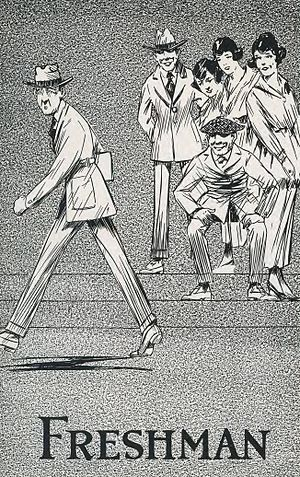Freshman - Freshman class artwork, from East Texas State Normal College's 1920 Locust yearbook
