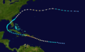 1930 Dominican Republic hurricane track.png