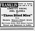 1938 - Franklin Theater Ad - 26 Sep MC - Allentown PA.jpg