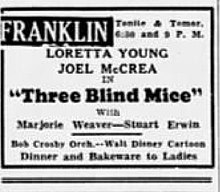1938 - Franklin Theater Ad - 26 Sep MC - Allentown PA.jpg