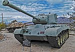 1945 M26 Pershing General Patton Museum, Chiriaco Summit, CA. (22349868255).jpg