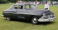 1950 Lincoln standard four-door sedan, Lime Rock.jpg