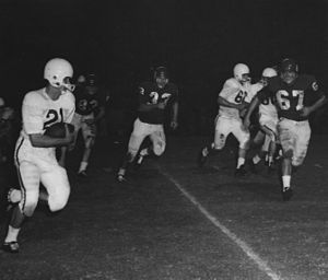 Houston Cougars football - Houston versus Texas A&M during the 1958 season under Lahar