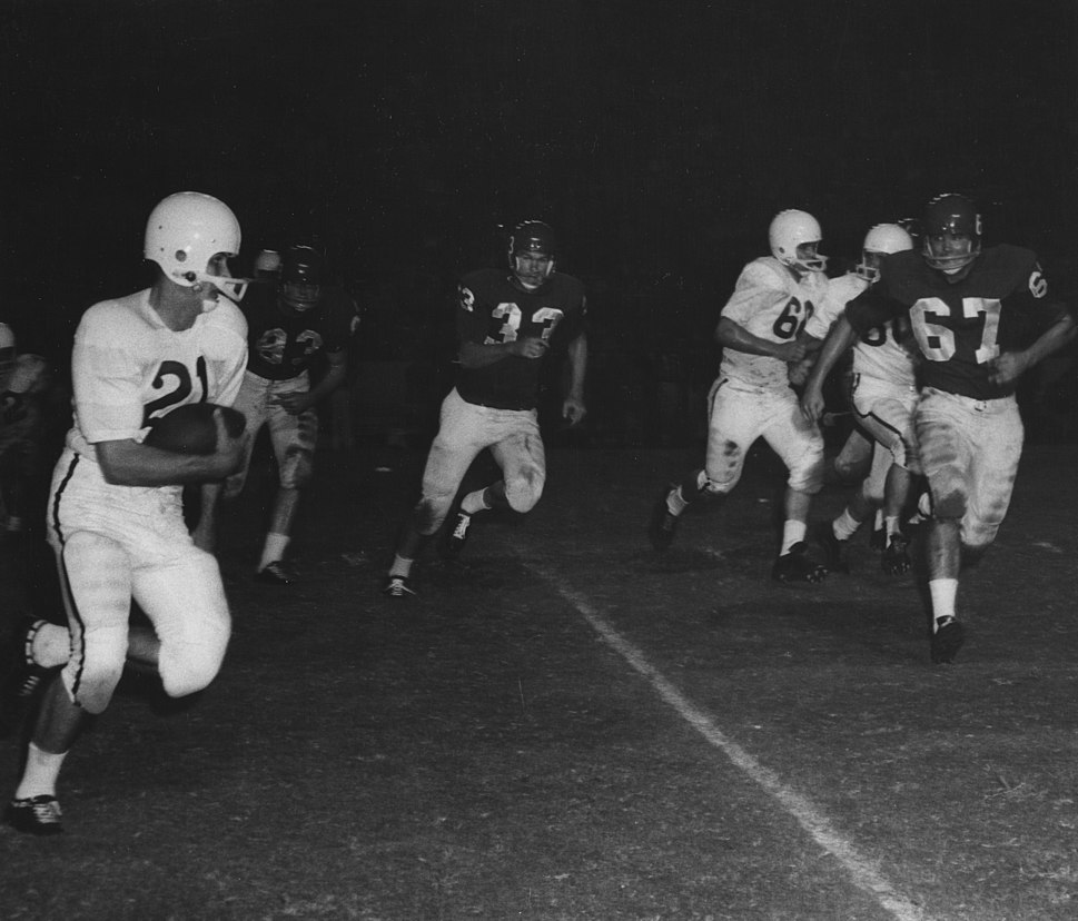 1958 Houston Cougars football vs Texas A&M Aggies (Cropped)