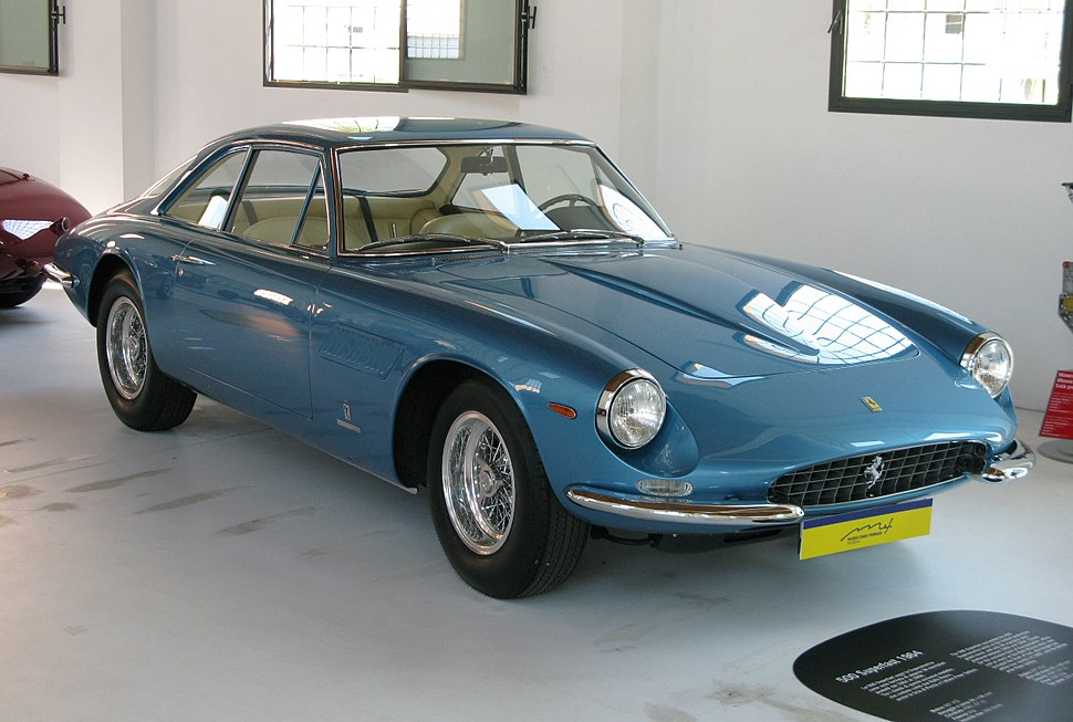 1964 Ferrari 500 Superfast fr