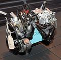 1966 Toyota K Type engine front.jpg