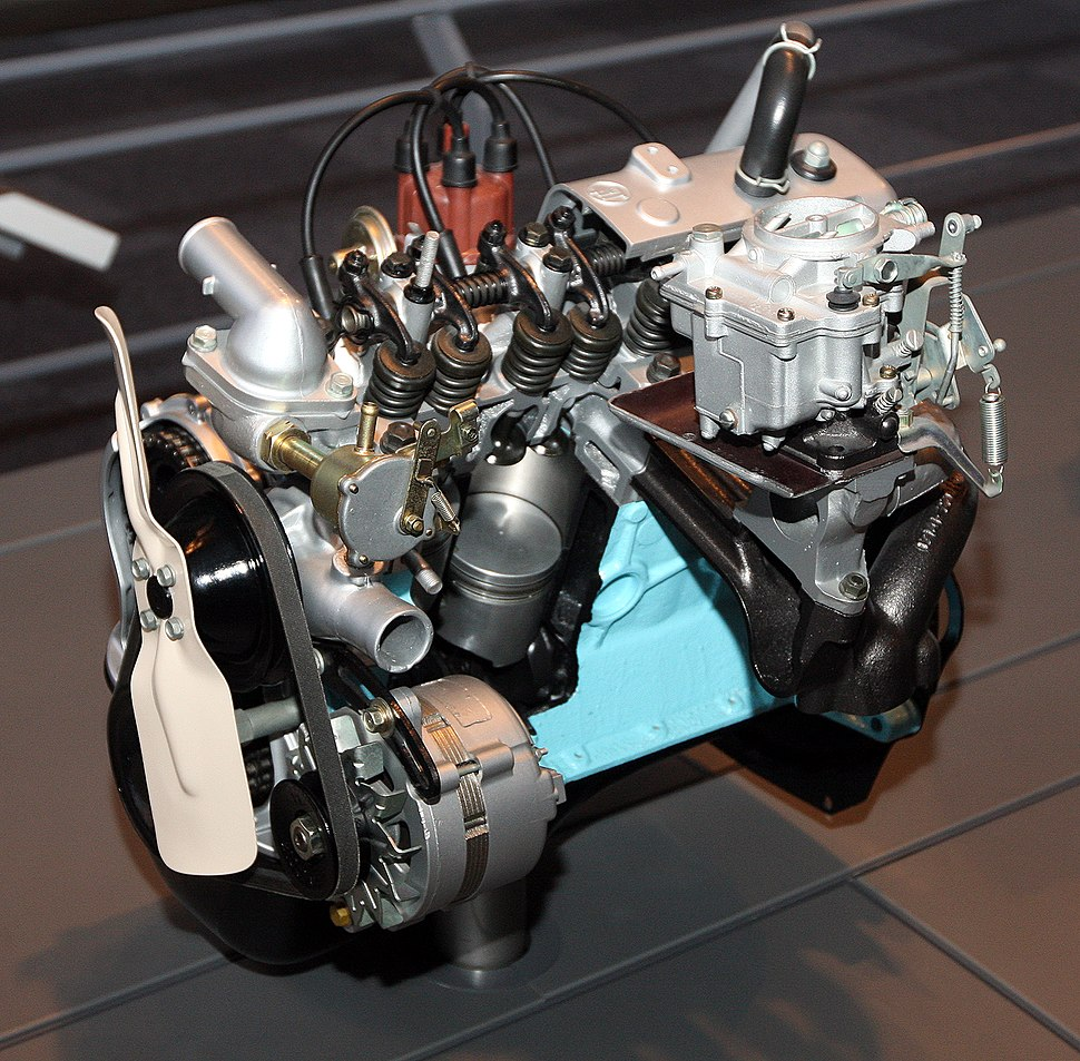 1966 Toyota K Type engine front