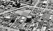 1967 4 Apr Clarence St gasworks, Hamilton