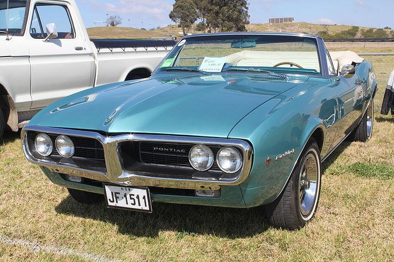 File:1967 Pontiac Firebird convertible (21294056076).jpg