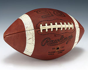 1978 Rose Bowl - A game ball from the 1978 Rose Bowl