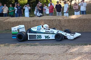 Williams FW06 - Image: 1978 Williams Ford FW06 Goodwood, 2009