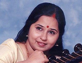 E. Gayathri Indian musician